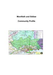 Monifieth & Sidlaw Area Profile (500 KB PDF) - Angus Community ...