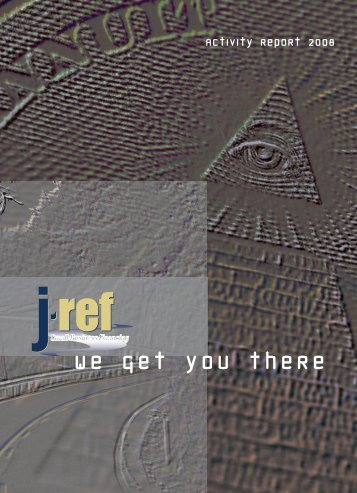 W e g e t y o u t h e r e - Jref - financing for emerging businesses