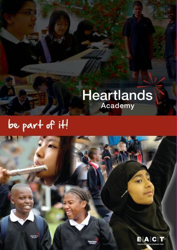 Students at Heartlands can... - Hays