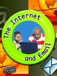 The Internet and Email - Rourke Publishing eBook Delivery System