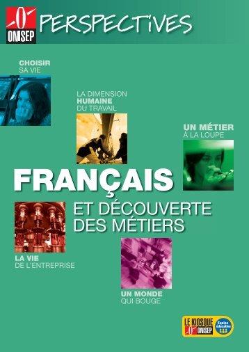 Français et découverte des métiers - Onisep