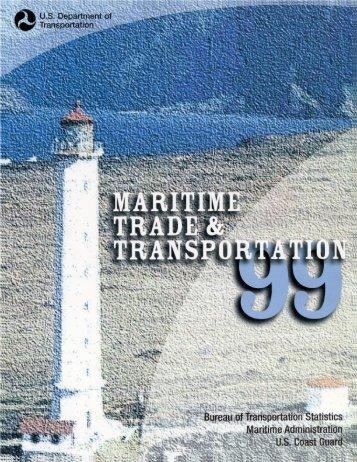 Foreword - BTS - Bureau of Transportation Statistics