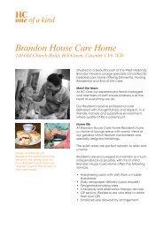 Brandon House Care Home - HC One