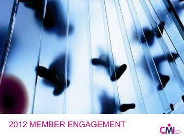 Member Engagement Conferene Corby1.pdf - Chartered ...