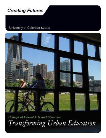 Transforming Urban Education - University of Colorado Foundation