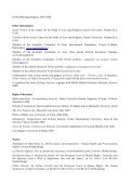 curriculum vitae - Center for the Study of Law and Religion - Emory ... - Page 2
