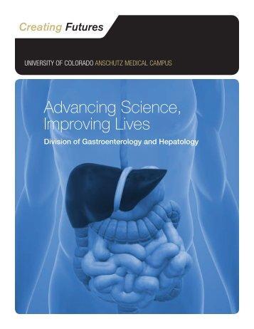 Advancing Science, Improving Lives - University of Colorado ...