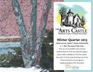 Winter Quarter 2013 - The Arts Castle