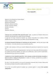 Inauguration Résidence OCTEN-ERIDEN et Service d'accueil de ...