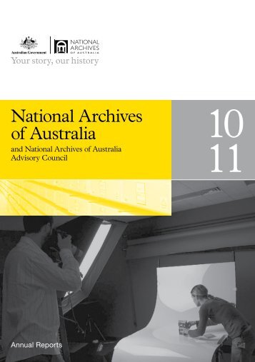 National Archives of Australia - Annual reports