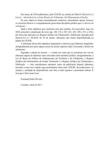 Download do livro - Faculdade de Direito - Universidade de Coimbra