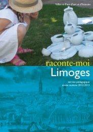 brochure du service pédagogique Ville d'art et d'histoire de Limoges ...
