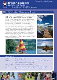 7 Day at the Lake - Llangorse near Brecon