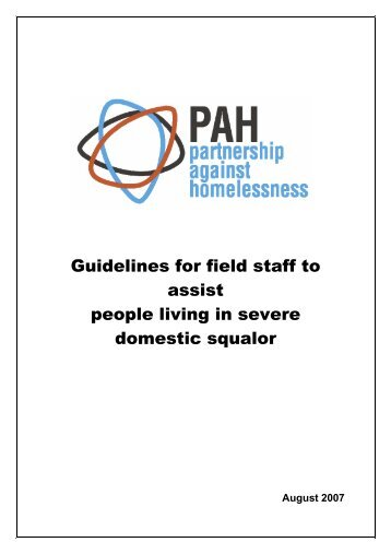Guidelines for field staff to assist people living in ... - Housing NSW