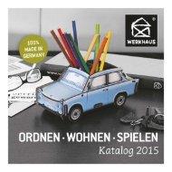Werkhaus Katalog 2015