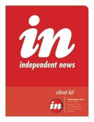 2013 Media Kit - inweekly