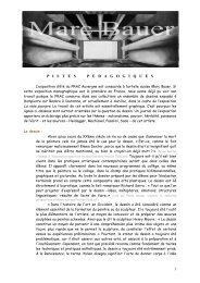 Marc bauer pistes pédagogiques - FRAC Auvergne