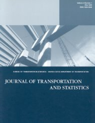 Journal of Transportation - Research and Innovative Technology ...