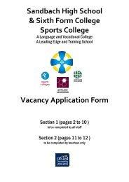 Job Application Form pdf - Hays