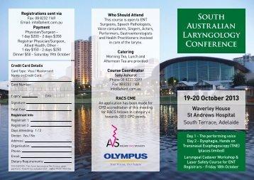 Conference DL Flyer.indd - Australian Voice Association