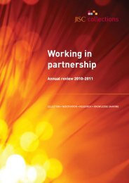 Annual Review 2010 - 2011 shortened accounts ... - Jisc Collections