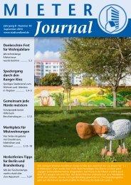 Journal - Stadt und Land
