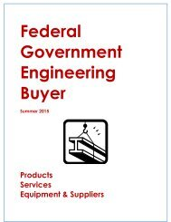 Federal Government Engineering Buyer