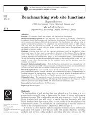 Benchmarking web site functions - Emerald