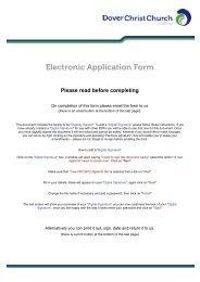Job application form - Hays