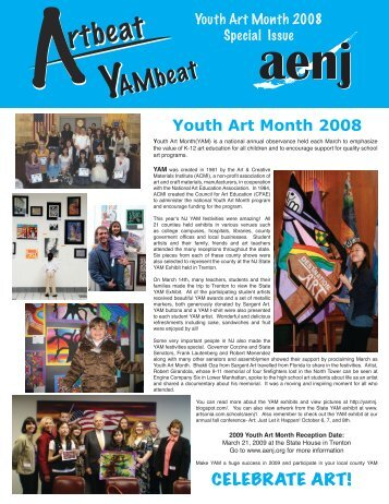 Youth Art Month Special Edition 2008 - Art Educators of New Jersey