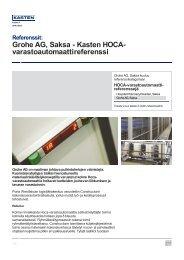 Grohe AG, Saksa - Kasten