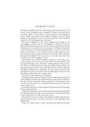 introduction quran tafseer by maulana wahiduddin khan