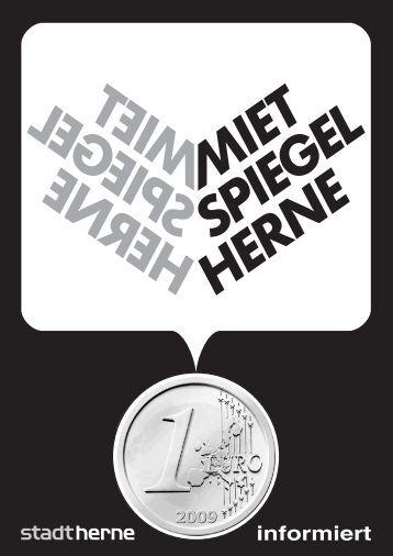 Mietspiegel Titel - Stadt Herne