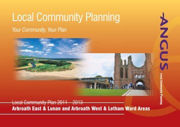 Arbroath East & West Community Plan - Angus Community Planning