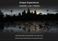 Unique Experiences - HanumanAlaya