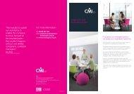 Development centre - Chartered Management Institute