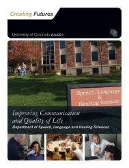 Improving Communication and Quality of Life - University of ...