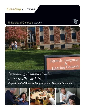 Improving Communication and Quality of Life - University of ...