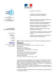 4217 circulaire orientation affectation - Onisep