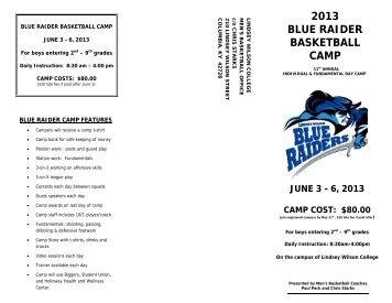 2013 Basketball Camp - Lindsey Wilson College Athletics