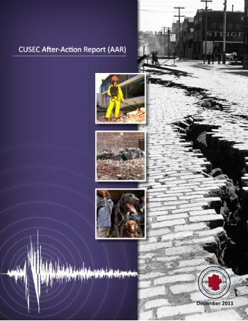 After Action Report - Central United States Earthquake Consortium