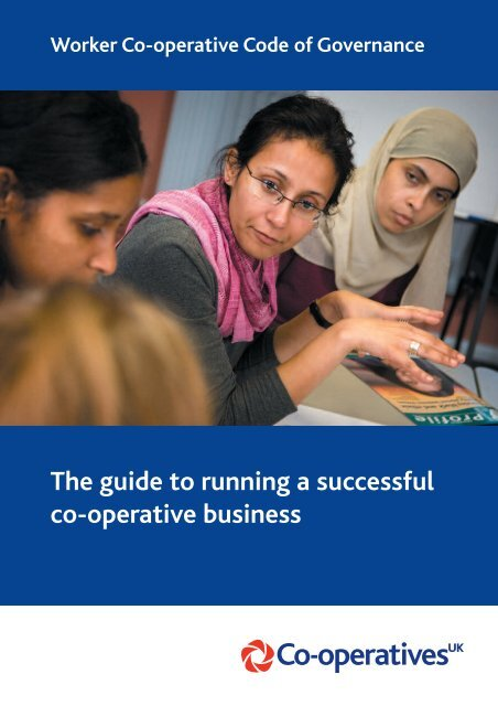 The worker co-operative code of governance - Seeds for Change