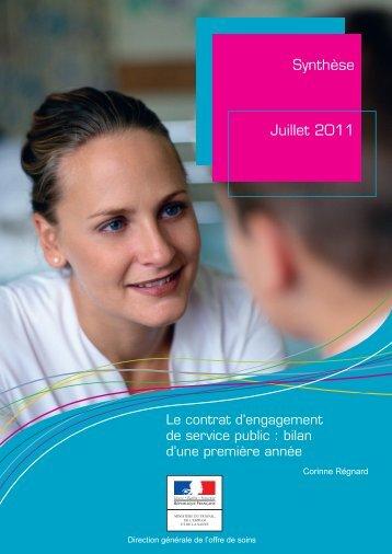 Synthèse du bilan 1ère année du CESP