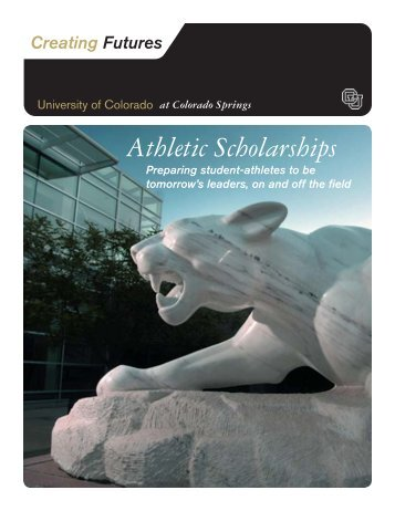 Athletic Scholarships - University of Colorado Foundation