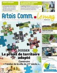 Le projet de territoire adopté - Artois Comm.