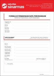 Formulir Pengkinian Data Perorangan - Sinarmassekuritas.co.id