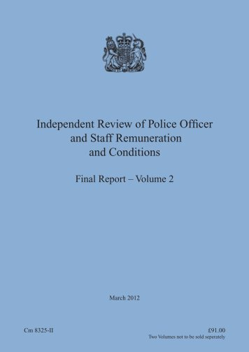 Final Report - Volume 2 - the South Wales Police Federation