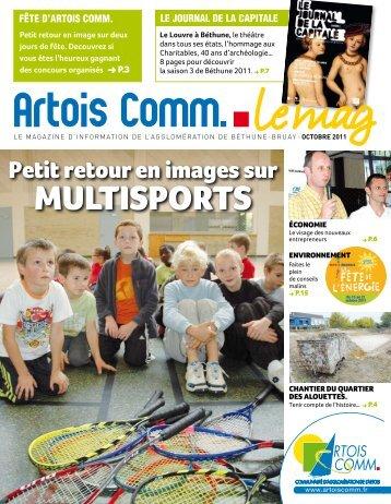Le mag octobre 2011 - Artois Comm.