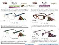 Bulova Interchangeables Catalog - Luzerne Optical Labs