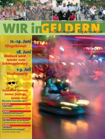 11.-14. Juni 18. Juni 1-3. Juli - WIR in Geldern